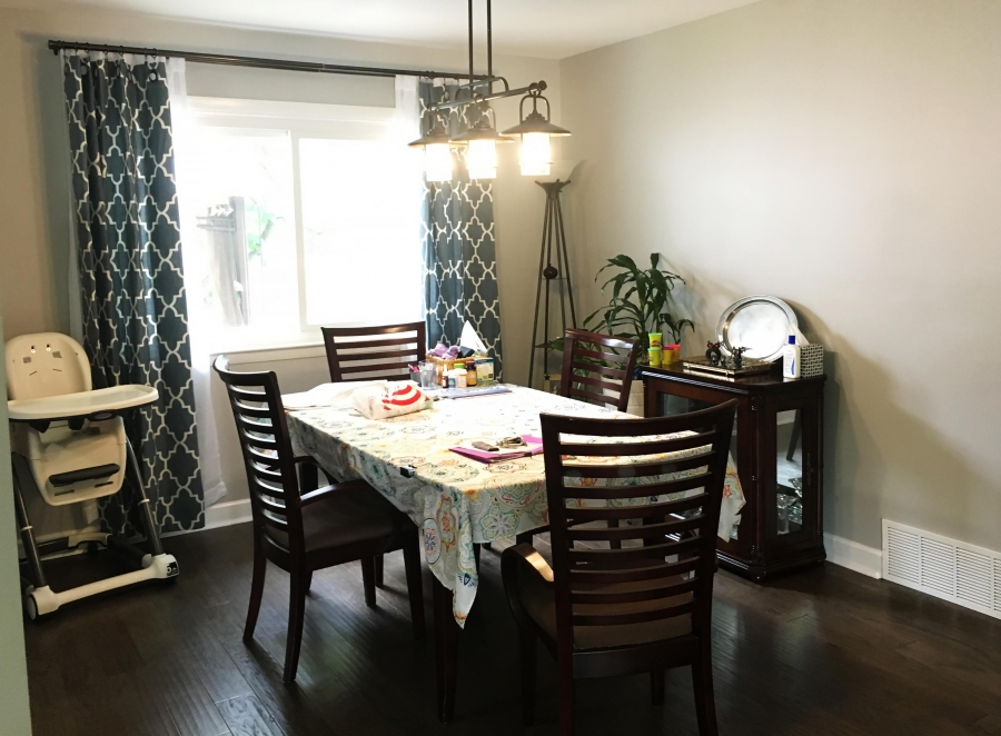 Interior Painting in Single Family House